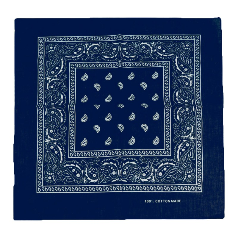 Bandana blau. 50x50cm