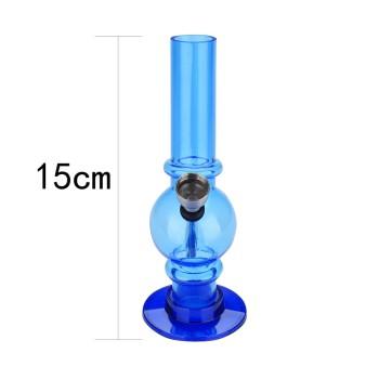 Acrylbong mini rasta water pipe 15 cm ve-12