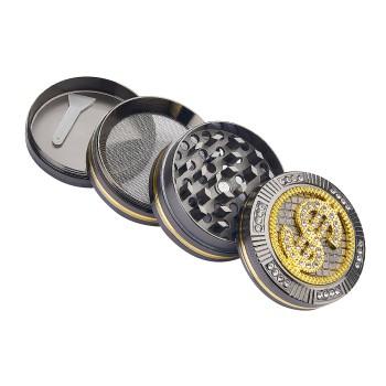 Metall Grinder 4-teilig Dollar + Diamond ca. 50 mm