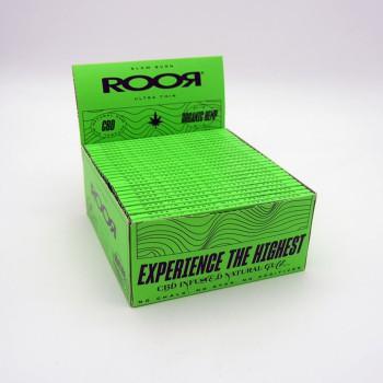 Roor CBD Zigaretten Papier Organic Hemp slim VE 50