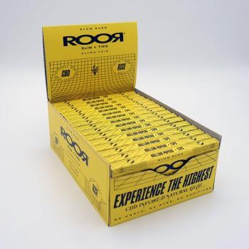 Roor CBD Zigaretten Papier Rice slim +Tips VE 32