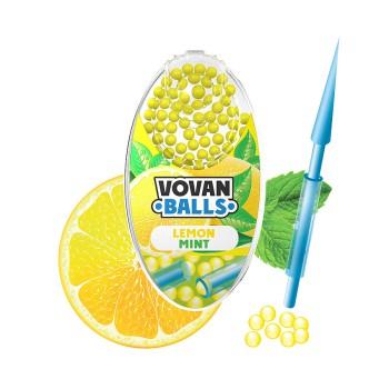 Aromakugeln für Zigaretten 100 Kügelchen Lemon Mint VE 20 Dose