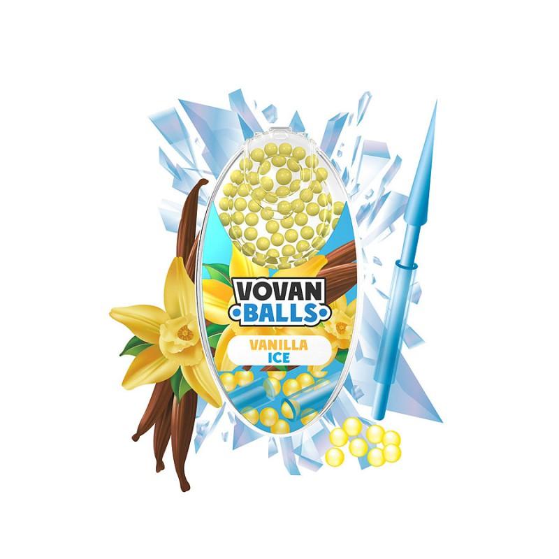 Aromakugeln für Zigaretten 100 Kügelchen Vanilla Ice VE 20 Dose
