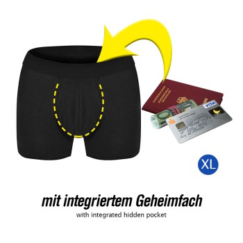 """"""" Bunkerhose"""" Unterhose mit integriertem Geheimfach Größe XL"""