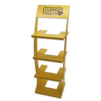 Clipper FZ Ständer Tower 4 Etagen Gelb